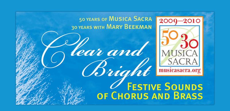 Clear and Bright: Festive Sounds of Chorus and Brass