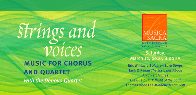 Bach 'Mass in B-minor', Saturday March 14, 2015 at 8:00 PM