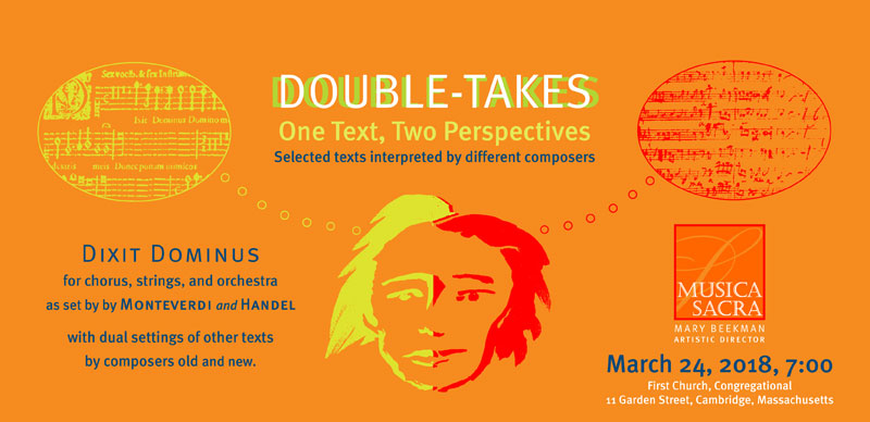 March 24, 2018: Double Takes: One Text, Two Perspectives